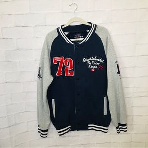 Ecko Unlimited Varsity Sweatshirt Jacket 2XL